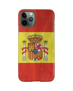 Spain Flag Distressed iPhone 11 Pro Lite Case