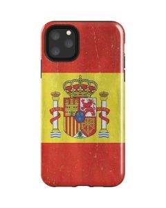 Spain Flag Distressed iPhone 11 Pro Max Impact Case