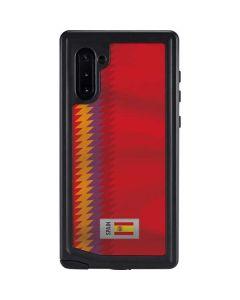 Spain Soccer Flag Galaxy Note 10 Waterproof Case