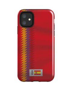 Spain Soccer Flag iPhone 11 Impact Case