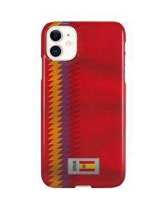 Spain Soccer Flag iPhone 11 Lite Case