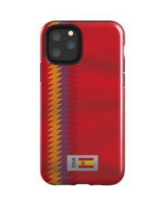 Spain Soccer Flag iPhone 11 Pro Impact Case