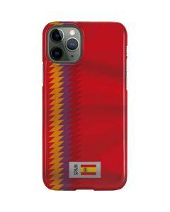 Spain Soccer Flag iPhone 11 Pro Lite Case