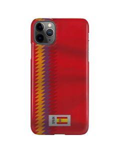 Spain Soccer Flag iPhone 11 Pro Max Lite Case