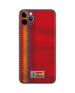 Spain Soccer Flag iPhone 11 Pro Max Skin