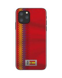 Spain Soccer Flag iPhone 11 Pro Skin