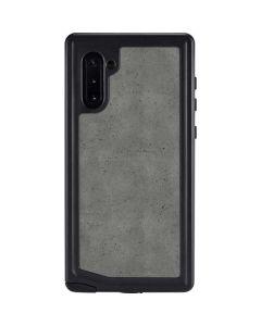 Speckle Grey Concrete Galaxy Note 10 Waterproof Case