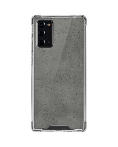 Speckle Grey Concrete Galaxy Note20 5G Clear Case