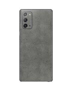 Speckle Grey Concrete Galaxy Note20 5G Skin