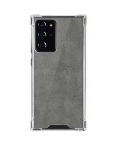 Speckle Grey Concrete Galaxy Note20 Ultra 5G Clear Case