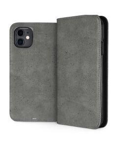 Speckle Grey Concrete iPhone 11 Folio Case