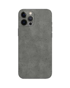 Speckle Grey Concrete iPhone 12 Pro Skin