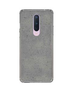 Speckle Grey Concrete OnePlus 8 Clear Case