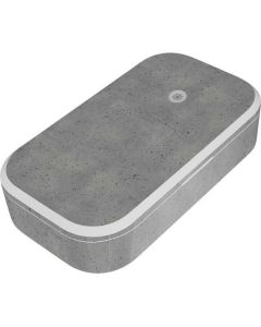 Speckle Grey Concrete UV Phone Sanitizer and Wireless Charger Skin