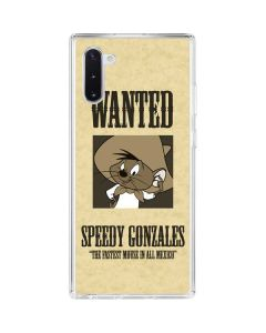 Speedy Gonzales- Andale! Andale! Galaxy Note 10 Clear Case