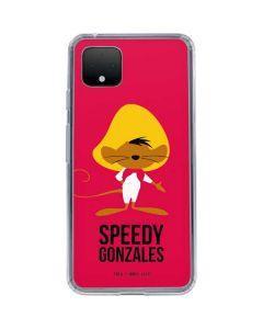 Speedy Gonzales Identity Google Pixel 4 Clear Case