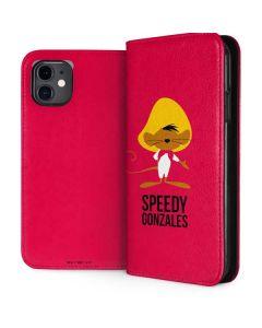 Speedy Gonzales Identity iPhone 11 Folio Case