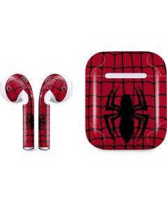 Spider-Man Chest Logo Apple AirPods Skin