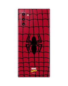 Spider-Man Chest Logo Galaxy Note 10 Skin
