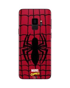 Spider-Man Chest Logo Galaxy S9 Skin