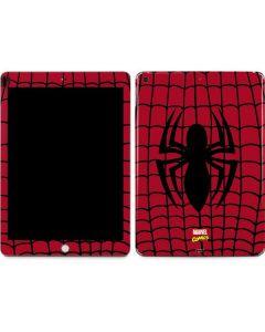 Spider-Man Chest Logo Apple iPad Skin