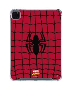 Spider-Man Chest Logo iPad Pro 11in (2020) Clear Case