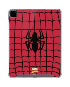 Spider-Man Chest Logo iPad Pro 12.9in (2020) Clear Case
