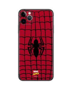 Spider-Man Chest Logo iPhone 11 Pro Max Skin