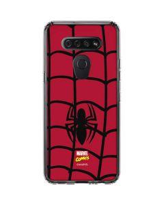 Spider-Man Chest Logo LG K51/Q51 Clear Case