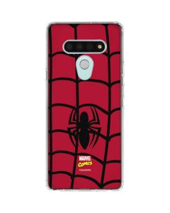 Spider-Man Chest Logo LG Stylo 6 Clear Case