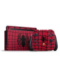 Spider-Man Chest Logo Nintendo Switch Bundle Skin