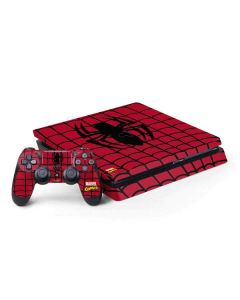 Spider-Man Chest Logo PS4 Slim Bundle Skin