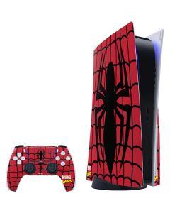 Spider-Man Chest Logo PS5 Bundle Skin