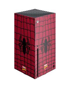 Spider-Man Chest Logo Xbox Series X Console Skin