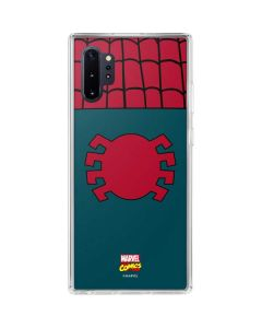 Spider-Man Close-Up Logo Galaxy Note 10 Plus Clear Case