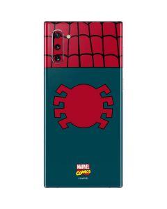 Spider-Man Close-Up Logo Galaxy Note 10 Skin