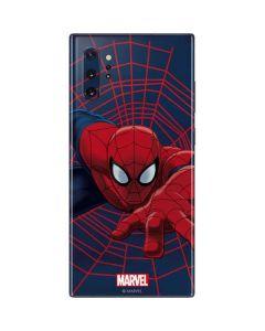 Spider-Man Crawls Galaxy Note 10 Plus Skin