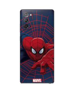 Spider-Man Crawls Galaxy Note20 5G Skin