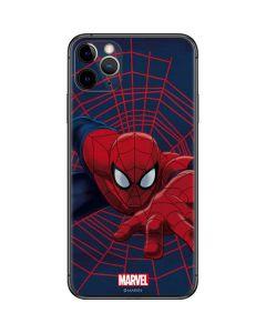 Spider-Man Crawls iPhone 11 Pro Max Skin