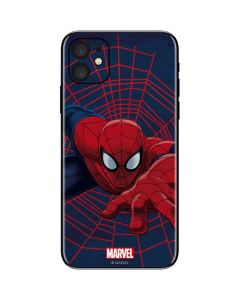 Spider-Man Crawls iPhone 11 Skin