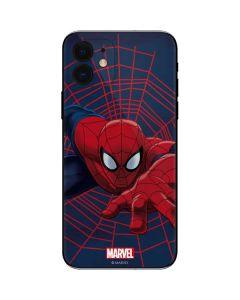 Spider-Man Crawls iPhone 12 Skin
