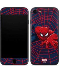 Spider-Man Crawls iPhone SE Skin