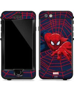 Spider-Man Crawls LifeProof Nuud iPhone Skin