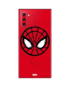 Spider-Man Face Galaxy Note 10 Skin