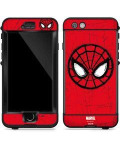 Spider-Man Face LifeProof Nuud iPhone Skin