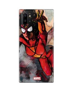 Spider-Woman In Action Galaxy Note 10 Plus Skin