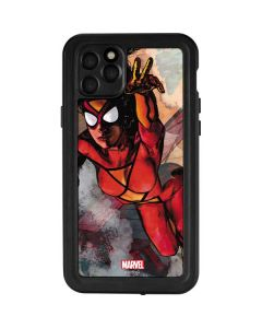 Spider-Woman In Action iPhone 11 Pro Max Waterproof Case