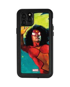 Spider-Woman Kapow iPhone 11 Pro Max Waterproof Case