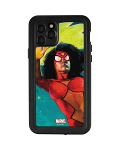 Spider-Woman Kapow iPhone 11 Pro Waterproof Case