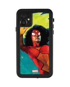 Spider-Woman Kapow iPhone 11 Waterproof Case